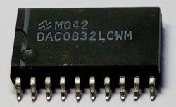 DAC0832LCWM SMD Integrated Circuit