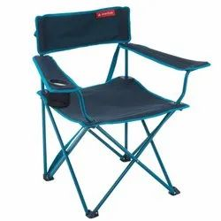 Decathlon 2.8 kg Blue Foldable Armchair Camping Chair