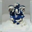Silver Ganesh Figurine