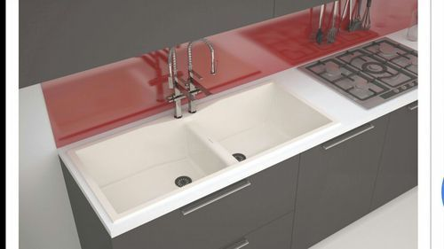 Double Bowl Kitchen Sink Without Drain Board