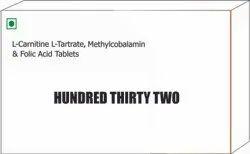 L Carnitine L Tartrate Methylcobalamin & Folic Acid Tablets