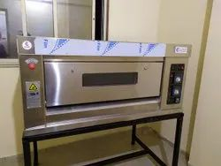 Single Deck Two Tray Gas Bakery Oven