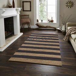 Online Handwoven Jute Carpet ज ट