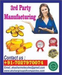 Softgel Capsules 3rd party Manufacturer in india