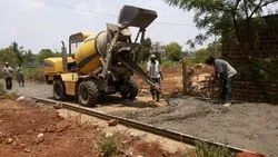 Concrete Road Work