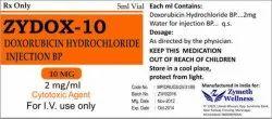10 mg Doxorubicin Injection