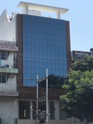 Commercial Building ACP & Reflective Glass Work