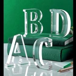 Acrylic Channel Letters