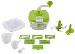 10 in 1 Piece Plastic Food Processor