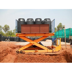 Hydro Moving Industrial Scissor Lift, Capacity: 1 ton - 30 tons