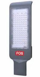 RoHS Aluminium FOS LED Street Light 100W, 10000 LUMENS (6500k - 2700k), Model Name/Number: FOSLSTL-S100WCW