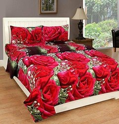 Rose Print 3D Bed Sheets