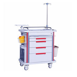 Emergency Medicine Trolley ABS