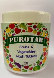 Purotab Vegetable & Fruit Wash Tablets