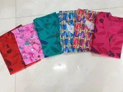Printed 3/4th Sleeve Ladies Cotton Tops