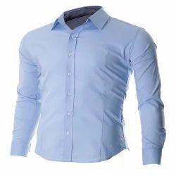 Plain Cotton Casual Shirts