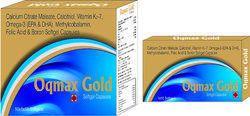 Calcium Citrate Maleate Calcitriol Vitamin K2-7 Omega-3 (EPA and DHA) Methylcobalamin Folic Acid and