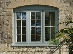 Sliding White Fenesta UPVC Windows, for Home