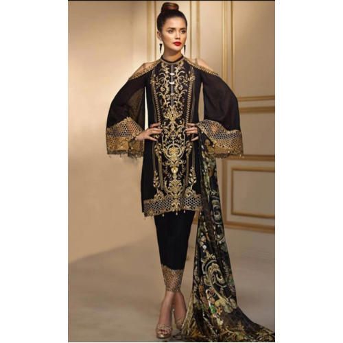 ba4ca1f980 Large And XL Georgette Pakistani Wedding Suit, Rs 600 /piece | ID ...