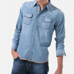 Men's Denim Shirts