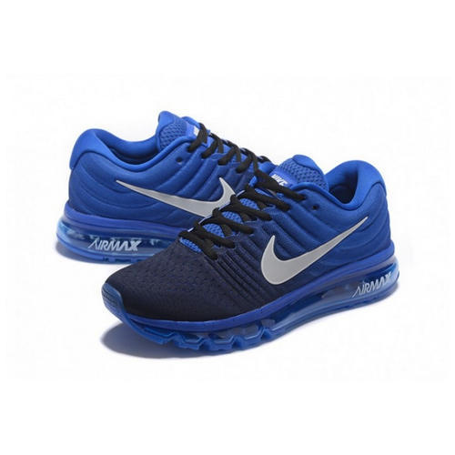 la moitié 9d4a3 3e6a9 Nike Air Max 2017 Black Blue Shoes