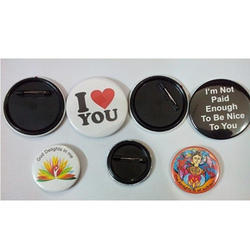 Tin Badges With Magnets
