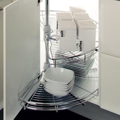 Beautiful Modular Kitchen Carousel Basket