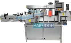 Automatic Two Side Front & Back Sticker Labeling Machine