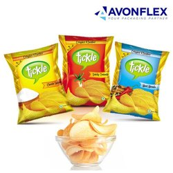 Printed Plastic Laminated Chips Packaging Pouch