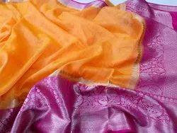 Banarasi Linen Handloom Saree