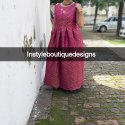 Instyle Boutique Designs Festive Collection Brocade Gown