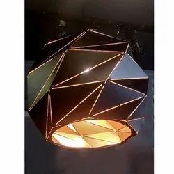 Glass HANGING LED Chandelier Light