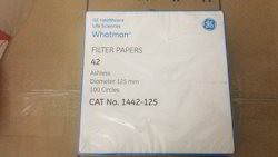 White Whatman Filter Paper Filter Paper