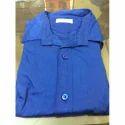 Mens Royal Blue Plain Shirt