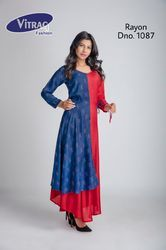 Double Colour Kurti