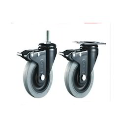 Thermoplast Rubber (TPR Grey) Caster Wheels