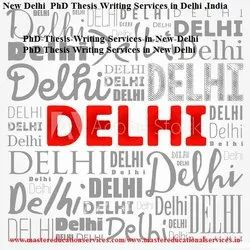 Delhi Thesis Writing Service