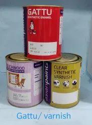 Soft Sheen Oil Based Paint Asian Paints Gattu Enamel, Packaging Type: Can
