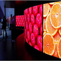 3.9mm Curved LED Video Wall