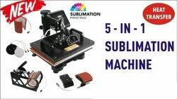 5 In 1 Sublimation T-Shirt Heat Press Machine