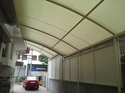 Ferrari Entrance Canopy Tensile Fabric Structure