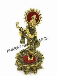 Golden Plated krishna kamal