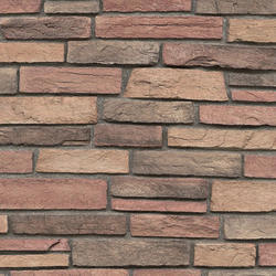 Red Ledgestone Veneer