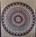 Elephant Printed Mandala Hippies Tapestries