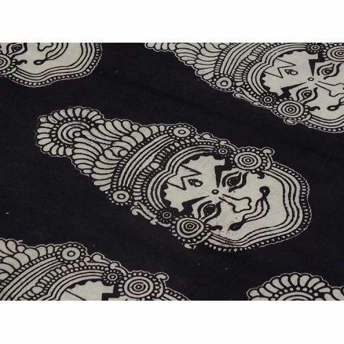 a90b79582587d Printed Cotton Kalamkari Blouse Material