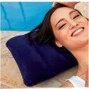 Blue Velvet Air Inflatable Neck Pillow