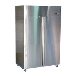 SS Upright Double Door Freezer