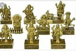 Pure Brass Navgarh Set