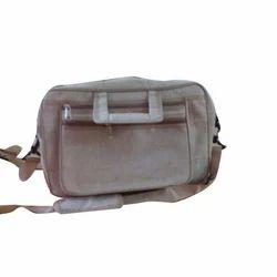 Off-White Jute Laptop Bag