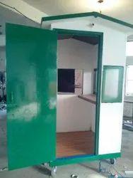 Cement Fiber Sheet Guard Room 4'x4'x7'
